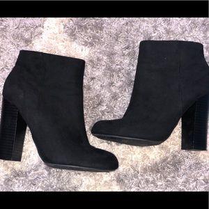 Black ankles booties
